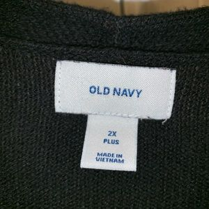 Old Navy Sweaters - Old Navy Plus Size 2X Open Front Mid Thigh Sweater